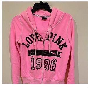 Victorias Secret LOVE PINK Zip-up hoodie